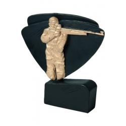 Mini odlievaná figúrka RFEL5020 čierna - Strelba