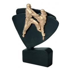 Mini odlievaná figúrka RFEL5015 čierna - Karate