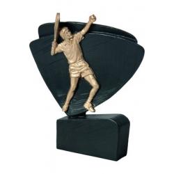 Mini odlievaná figúrka RFEL5010 čierna - Tenis