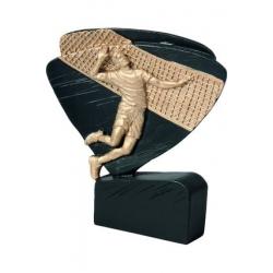 Mini odlievaná figúrka RFEL5007 čierna - Volejbal