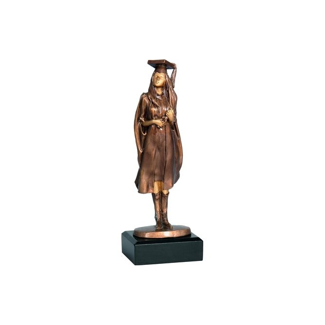 Odlievaná figúrka RFST2055 / BR  Vzdelanie (absolventka)