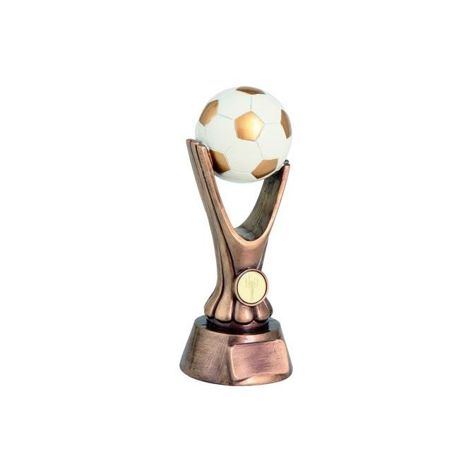 Odlievaná trofej RKO1139 / BR Futbal + emblém Viktória