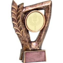 Odlievaná trofej RTY2300-2 / BR Univerzálna + emblém pochodeň
