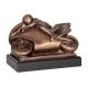Odlievaná figúrka RFST2046 / BR Moto-šport - motorka