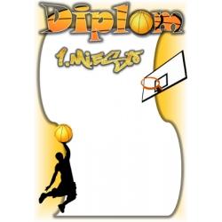 Diplom DVB2 / 1.miesto Basketbal