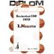 Diplom DVB3 / .miesto+vlastný text Basketbal