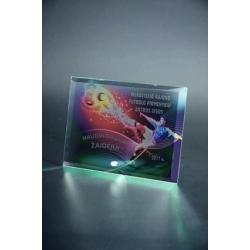 Plaketa M52/ABC Sklenená + farebná potlač