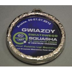 Medaila MMAK1070 / S + farebná potlač univerzálna