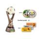 Odlievaná trofej RKO1139 / BR Futbal + emblém (farebná potlač)