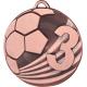 Medaila MD2450 / B-bronzová Futbal