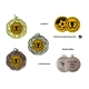 Medaila MD015 univerzálna + emblém (gravírovanie)