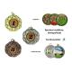 Medaila MD015 univerzálna + emblém (holografický)