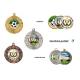 Medaila MD16045 univerzálna + emblém (farebná potlač)