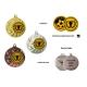 Medaila MD14045 univerzálna + emblém (gravírovanie)