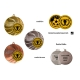 Medaila MMC4250 univerzálna + emblém (gravírovanie)