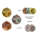Medaila MMC4250 univerzálna + emblém (kovový)