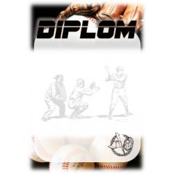 Diplom DVBAS1 / 1-3 Baseball