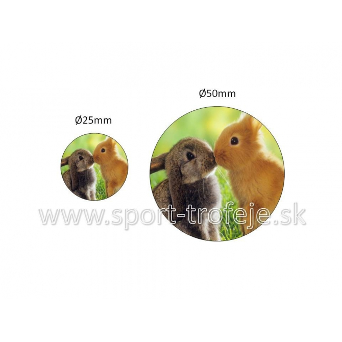 emblém EPDCHZ2 zajace drobnochov