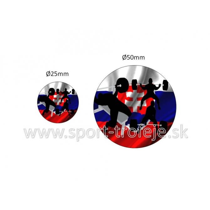 emblém EPPWL9 silový trojboj