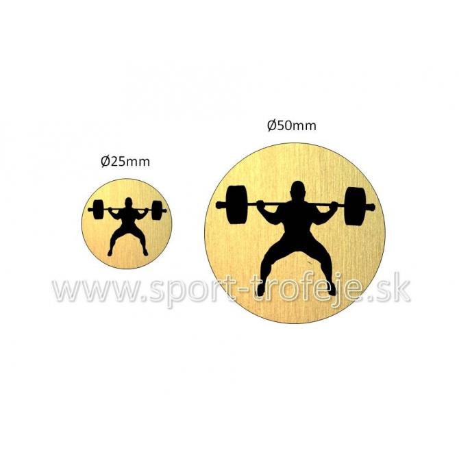 emblém EGPWL3 silový trojboj