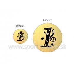 emblém EGHUNI1-9 hudba
