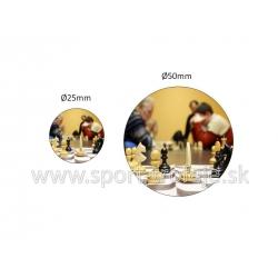 emblém EPŠ1 šachy