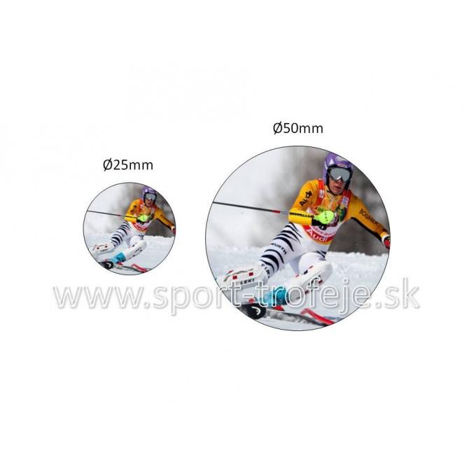 emblém EPLYŽ1 lyžovanie