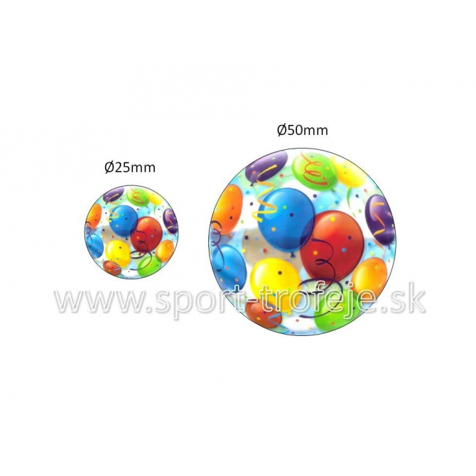 emblém EPPART2 párty balóny