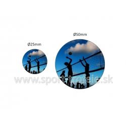 emblém EPPV2 plážový volejbal