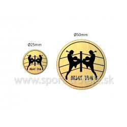 emblém EGMTFK1 muay-thai