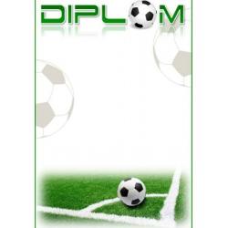 Diplom DVF5 / 1-3 Futbal