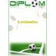Diplom DVF5 / 1 Futbal