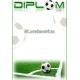 Diplom DVF5 / 2 Futbal
