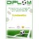 Diplom DVF5 / Futbal + vlastný text