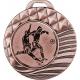 Medaila MMC7040 / B + emblém futbal kovový
