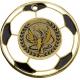 Medaila MMC5150 futbal / G + emblém Viktória holografický