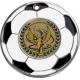 Medaila MMC5150 futbal / S + emblém Viktória holografický