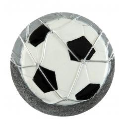 BLD02 odlievaný emblém futbal
