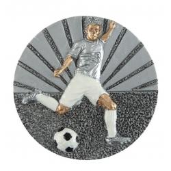 BLD27 odlievaný emblém futbal