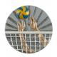 BLD06 odlievaný emblém volejbal