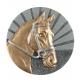BLD08 odlievaný emblém kone