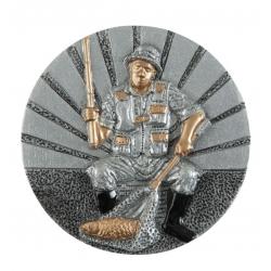 BLD09 odlievaný emblém rybár