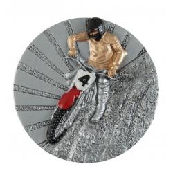 BLD14 odlievaný emblém motokros
