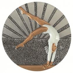 BLD39 odlievaný emblém gymnastika