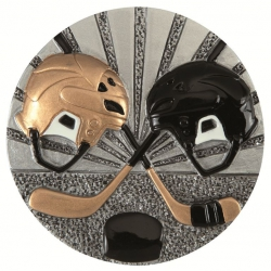 BLD41 odlievaný emblém hokej