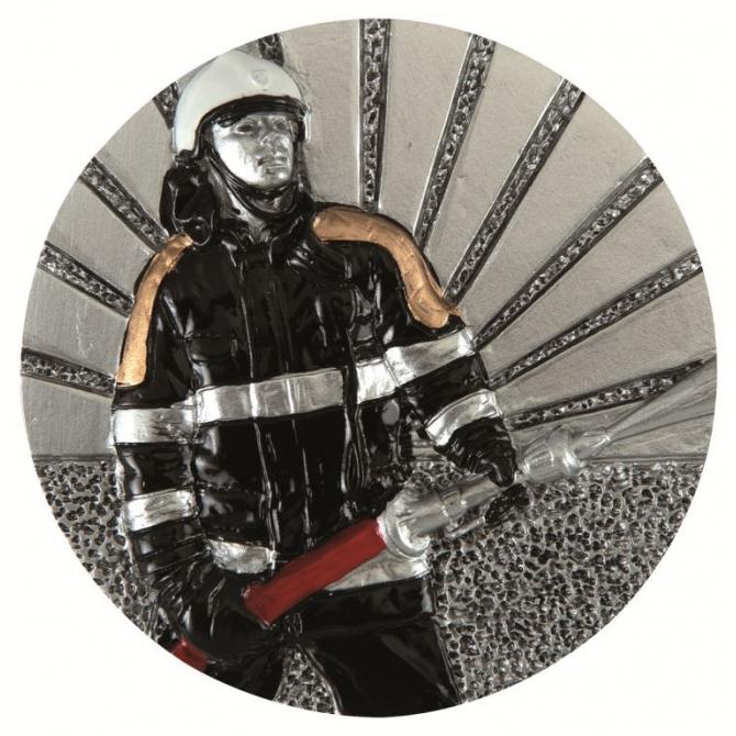BLD46 odlievaný emblém hasič