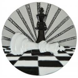 BLD47 odlievaný emblém šachy