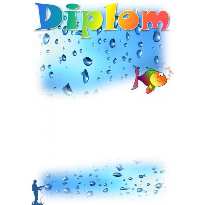 Diplom DVR2 / 1-3 Rybárstvo