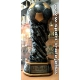 Odlievaná trofej 6558 Futbal + štítok (gravírovanie)