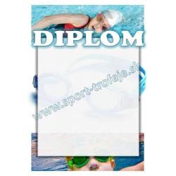 Diplom DVPLD1 / 1-3 Plávanie deti